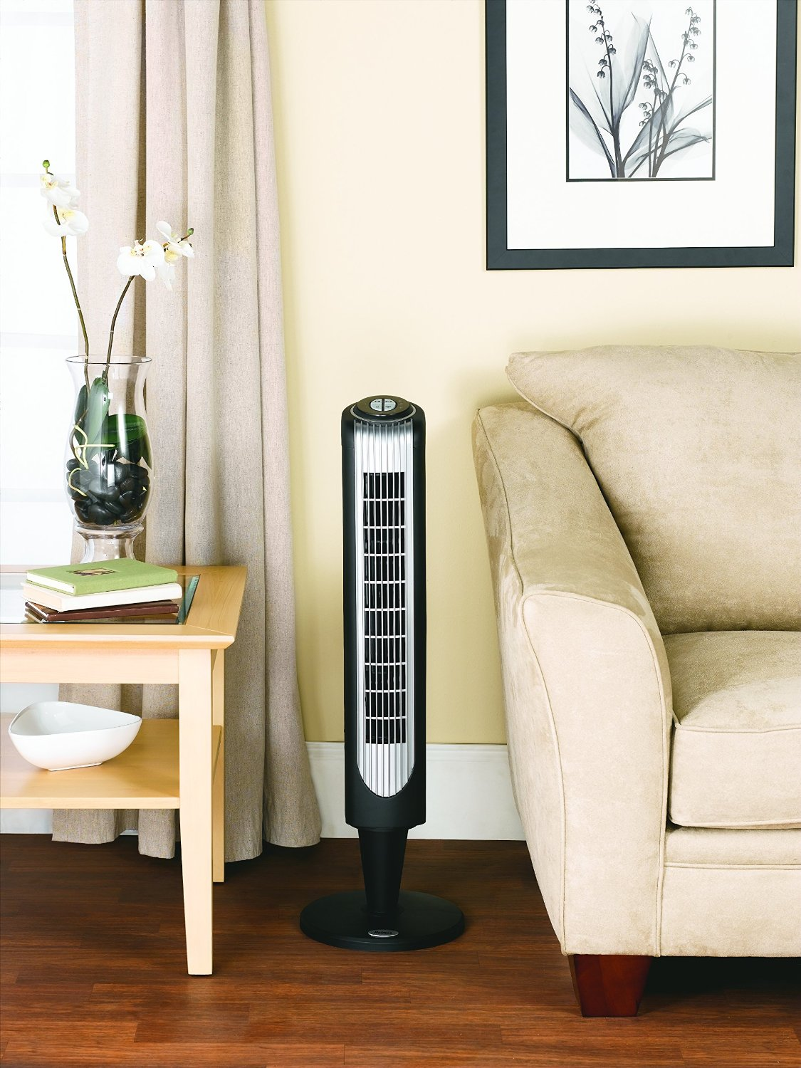 Holmes HT38RB-U Oscillating Tower Fan Display