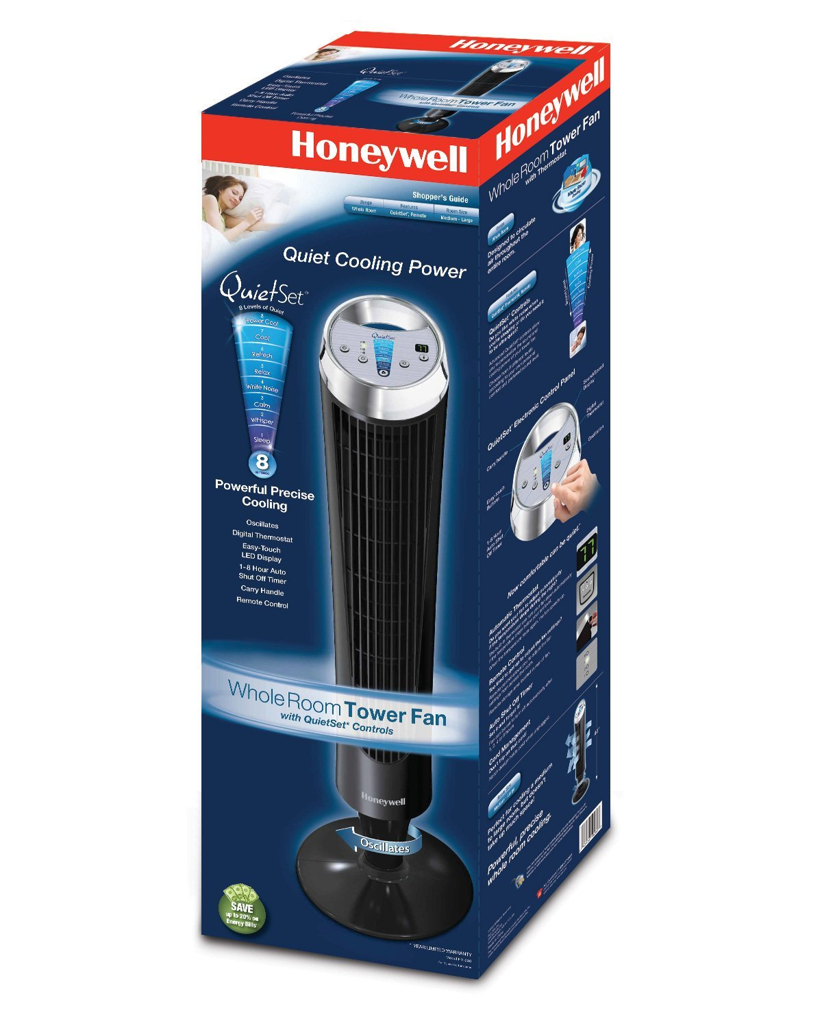 Honeywell Quietset Whole Room Tower Fan Hy 280 Review