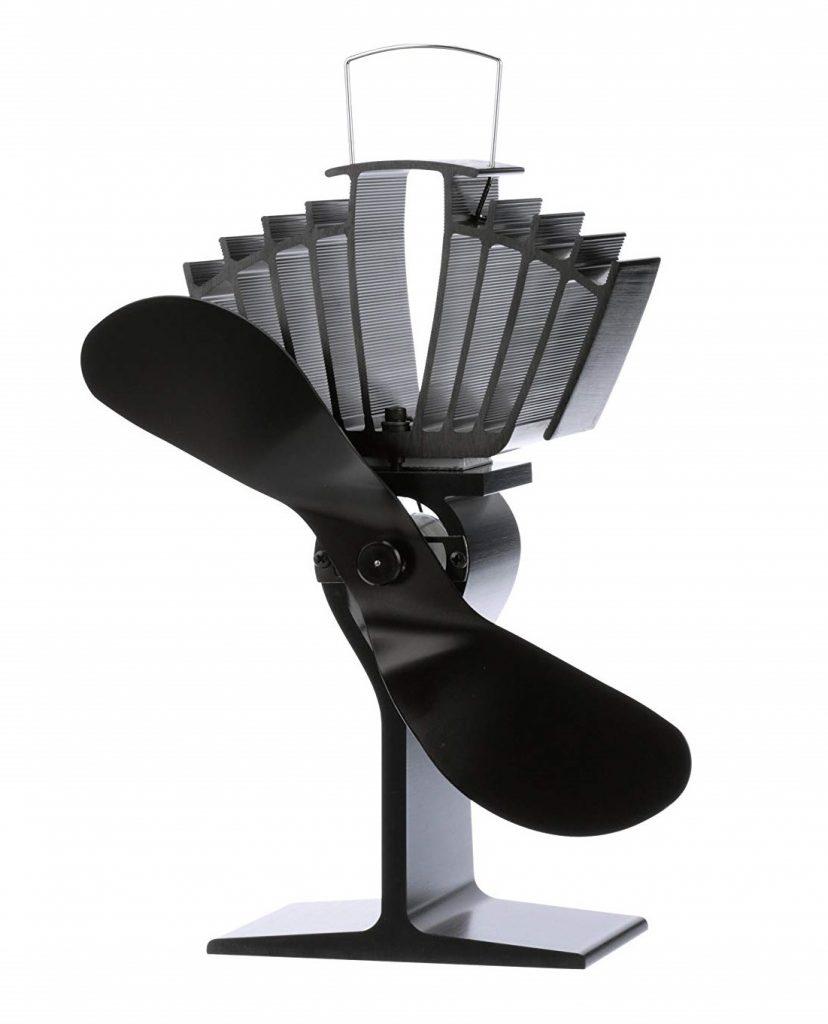 ECOFAN 812AMXBX AirMax Large Heat Powered Wood Stove Fan