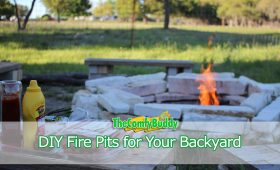DIY Backyard Fire Pits Beautiful and Creative