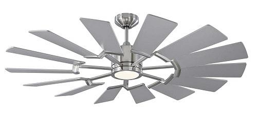 Monte Carlo Fans 14PRR52BSD Prairie Ceiling Fan