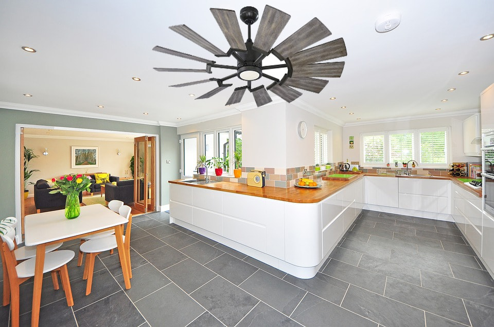 10 Windmill Ceiling Fans That Can Cool Large Rooms Quickly