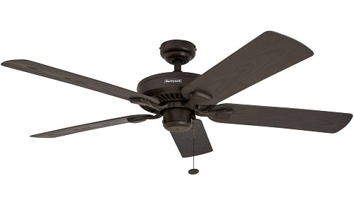 Honeywell Belmar 52-Inch IndoorOutdoor Ceiling Fan