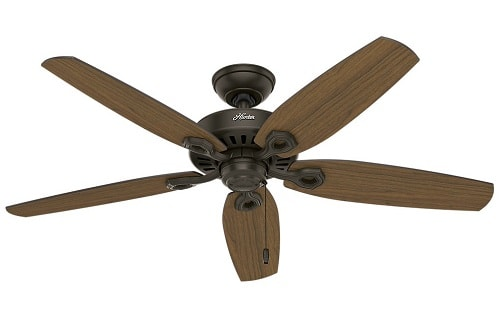 Hunter Fan Company 53292 52-inch Builder Elite Damp New Ceiling Fan