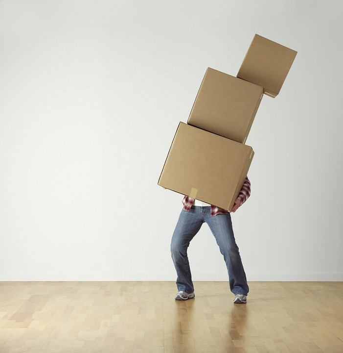 Boxes Moving