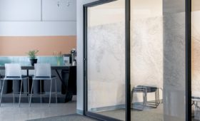 Sliding Glass Door at Home or Office for Efficiency
