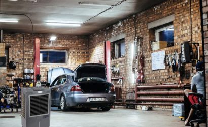Garage Evaporative Cooler